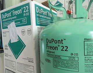 Gas lạnh/Dupont Freon R22 USA